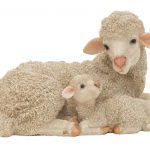 decorative sheep family - HOME ID