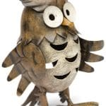 metal owl candle holder - HOME ID