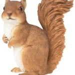 decorative polyresin squirrel