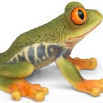 decorative polyresin frog